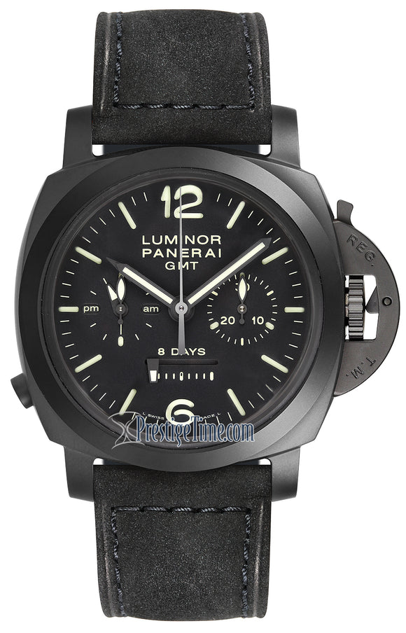 Panerai Luminor 1950 8 Days GMT Monopulsante Chrono pam00317
