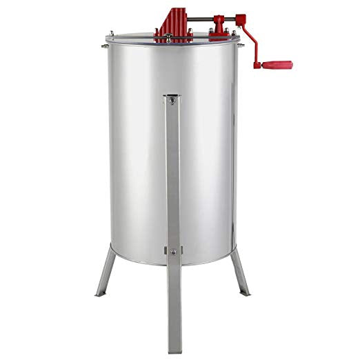 Manual honey extractor, 3 frames or 10 half-frames