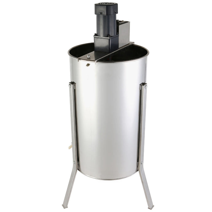 Electric honey extractor, 3 frames or 10 half frames