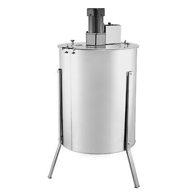 Electric honey extractor, 4 frames or 15 half frames