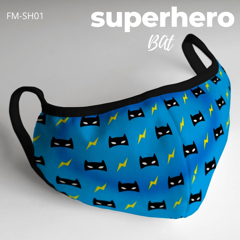 Superhero Printed Masks