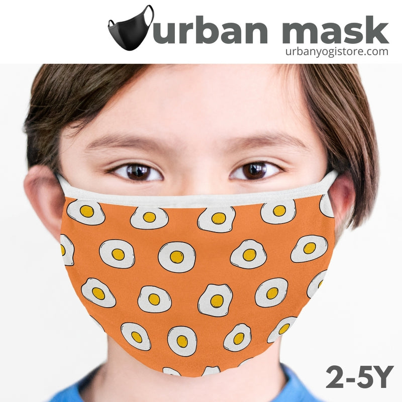 Kids Printed Face Mask (2-5 years) - Pack of 4