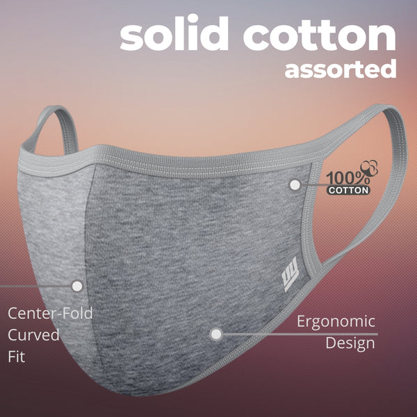 Solid Cotton Mask