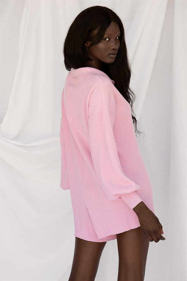 SAMPLE-Jayla Playsuit - Pink