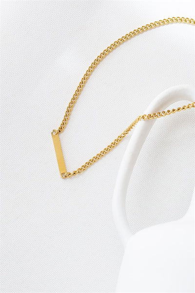 ID Bar Necklace