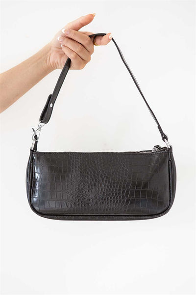 Tulli Baguette Bag - Black