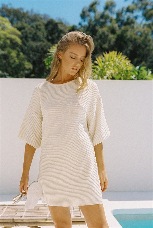 Remy Tunic Top - Ribbed