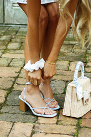 Azzuro Strappy Sandals - Blue