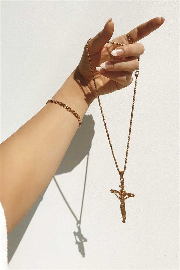 Bold Cross Necklace