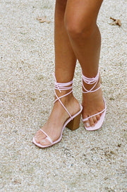 Salina Strappy Sandals - Pink