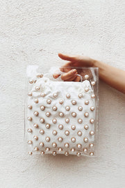 SAMPLE-Transparent Pearl Bag
