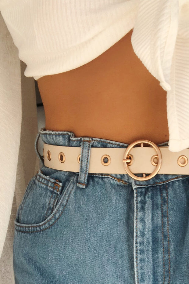 Ringside Belt - Beige