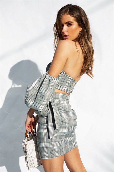 Astoria Plaid Skirt