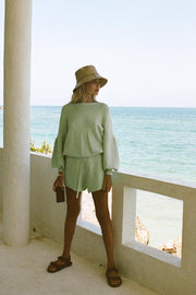 Mint Knit Shorts
