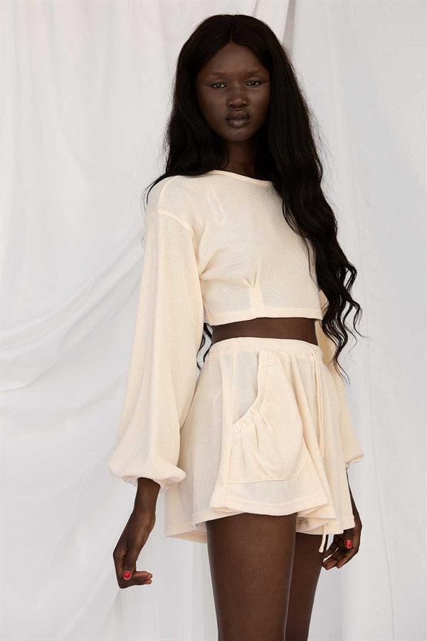 Jada Shorts - Cream