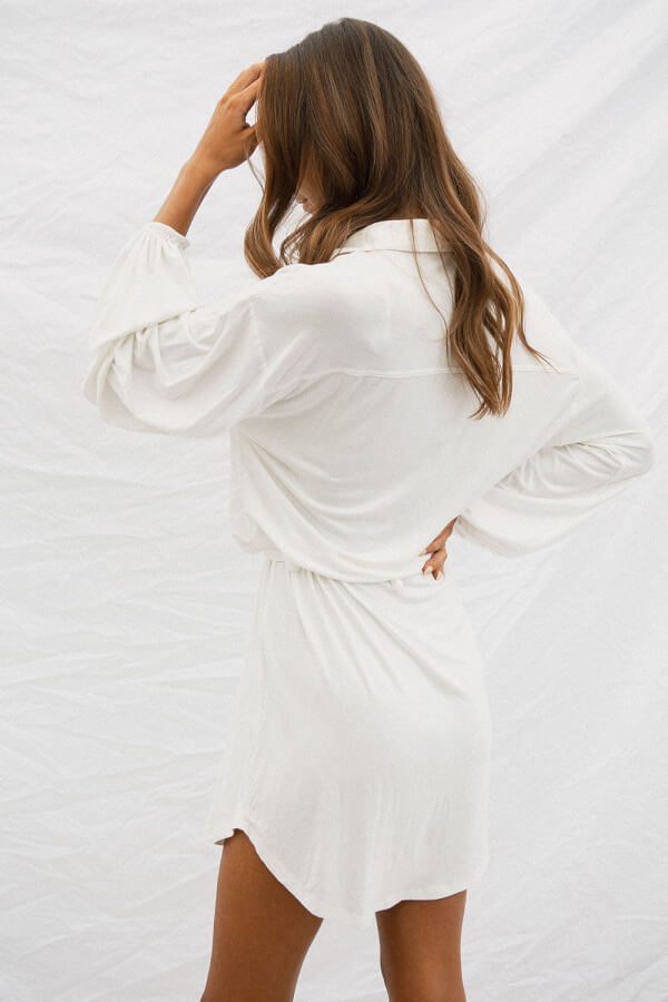 Andi Dress - White