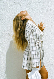 Atlas Dress - Plaid