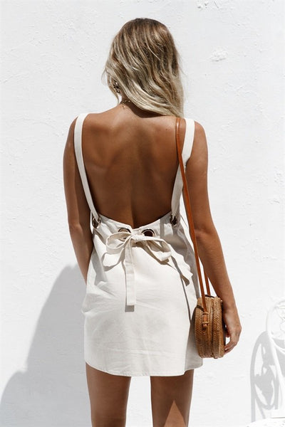 SAMPLE-Backless Ollie Dress