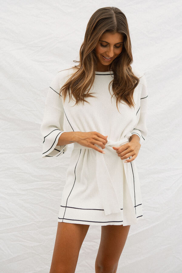 Henley Rib Dress