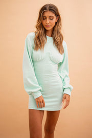 Koi Dress - Mint