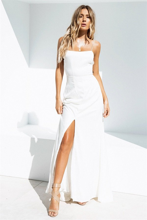 SAMPLE-Maya Bridesmaid Dress - Ivory