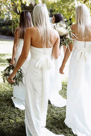 Milan Bridesmaid Dress - Ivory