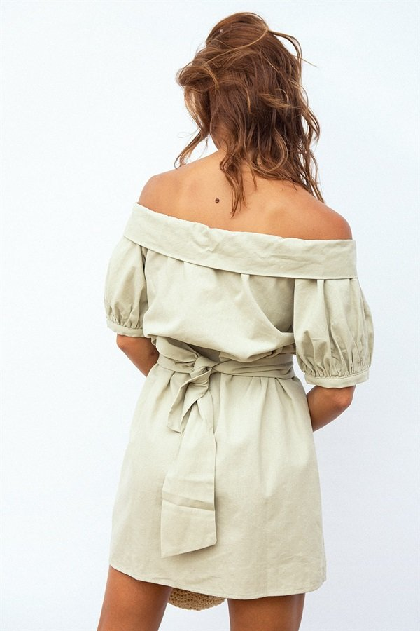Pia Off Shoulder Dress