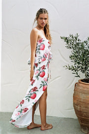 Pomegranate Maxi Dress