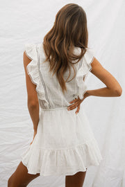 Reese Dress - White