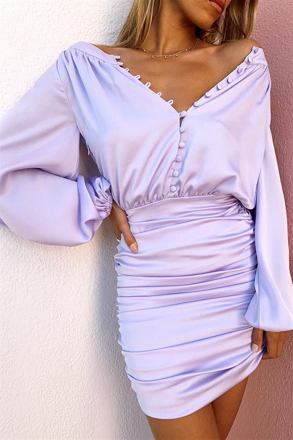 SAMPLE-River Dress - Lilac