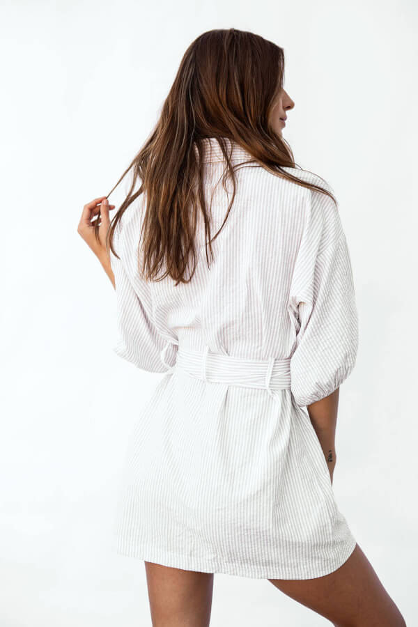 Sunset Shirt Dress