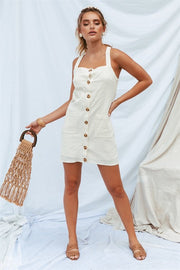 Tanner Pinafore - Beige