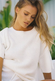 Calais Top - Ribbed