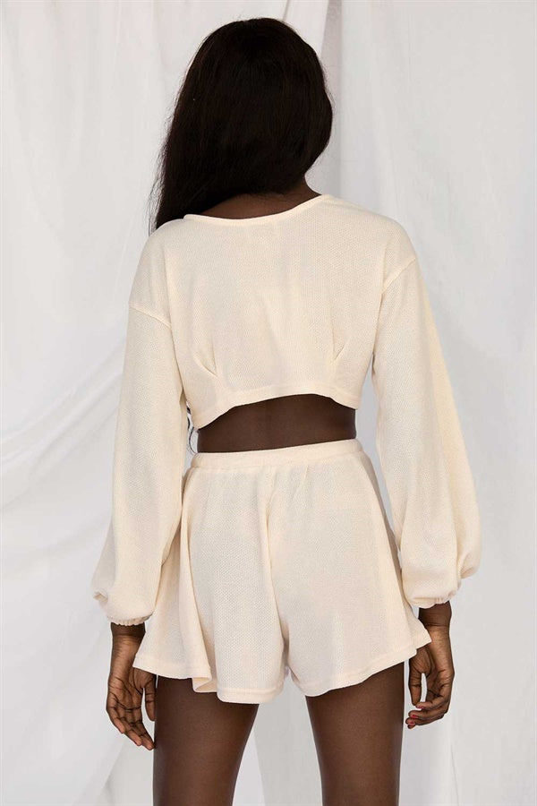 SAMPLE-Jada Top - Cream