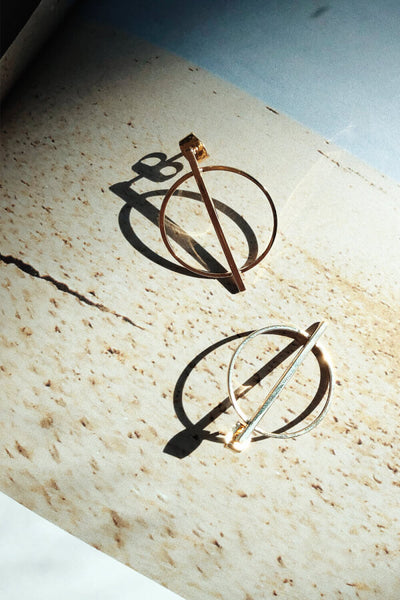 Cross Bow Earrings