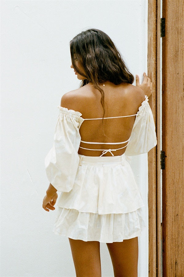 Backless Zoe Top