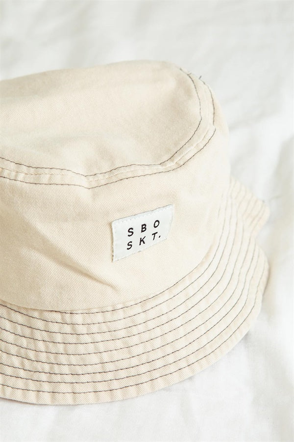 SBO SKT Bucket Hat - Black Stitch