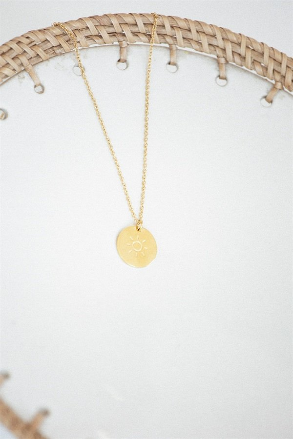 Golden Sol Necklace