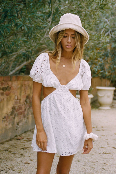 Eilish Dress - Eyelet
