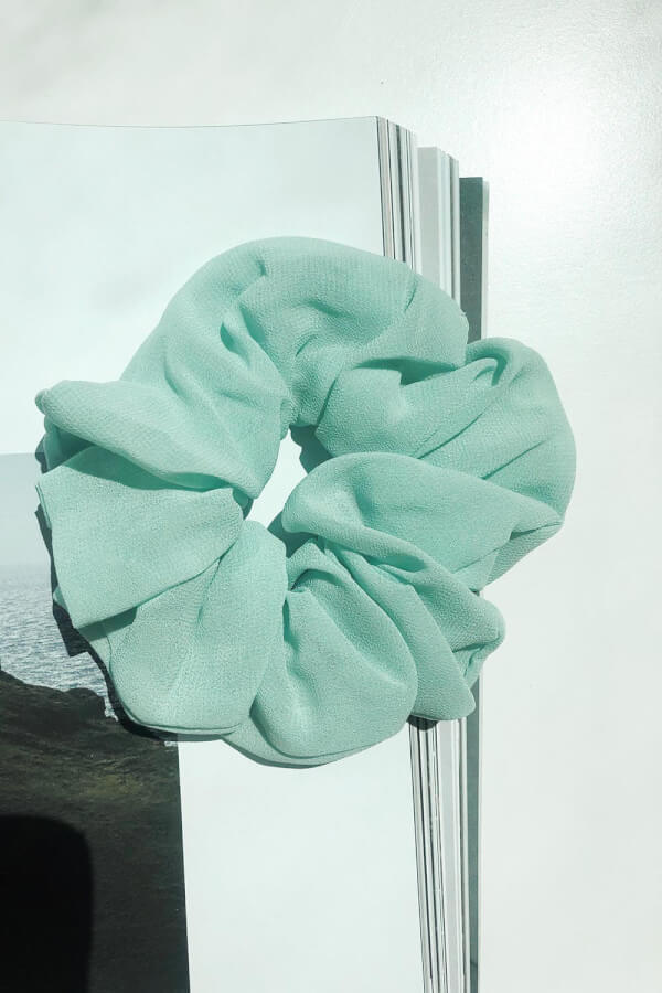Sea Mist Scrunchie