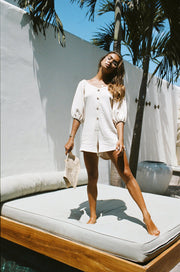 Avalon Playsuit - Crema