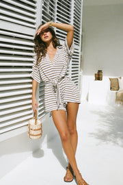 Comfy Stripe Playsuit