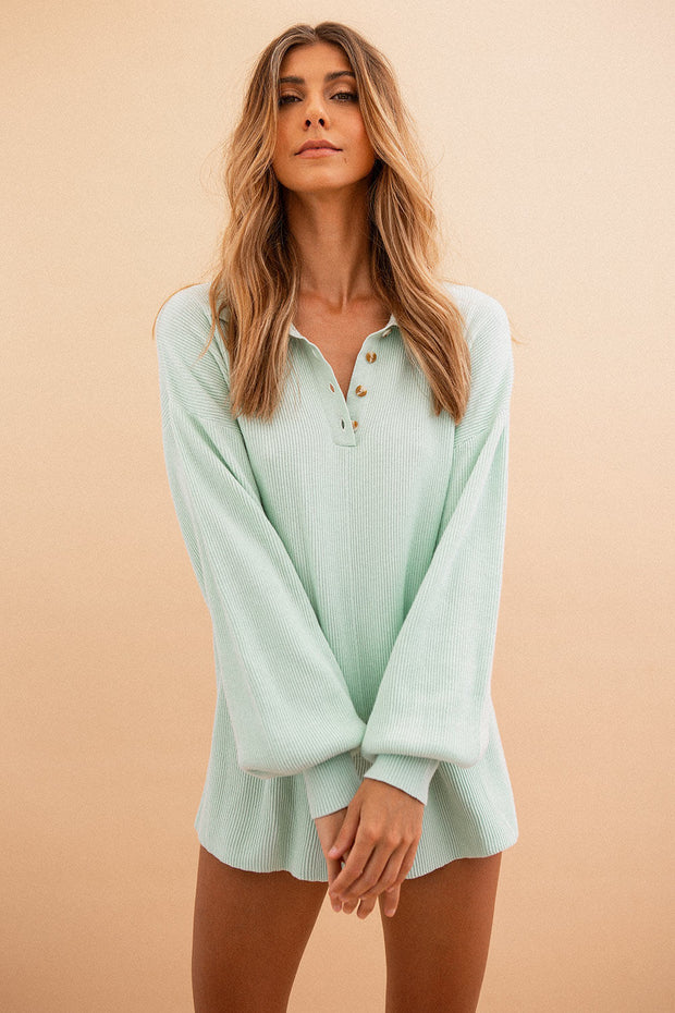 Jayla Playsuit - Mint