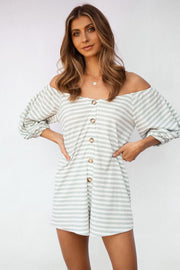 Nola Stripe Playsuit