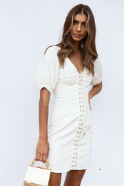 SAMPLE-Jazmin Lace Up Dress