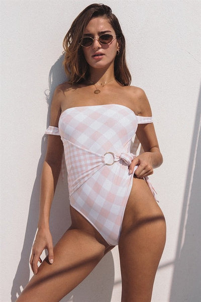 Granada Gingham One Piece