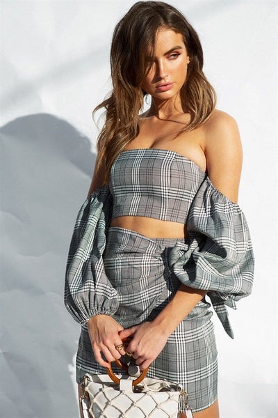 Astoria Plaid Top