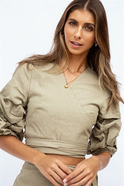Blakely Wrap Top