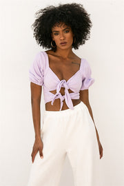 Dream Fields Top - Lilac
