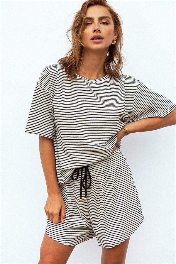 Fallon Stripe Tee